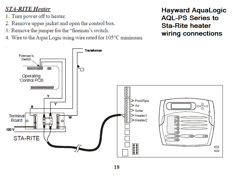 Aqualogic_to_Sta Rite_wiring sta rite pump wiring diagram water well wiring diagram \u2022 free 4 wire submersible pump wiring diagram at soozxer.org