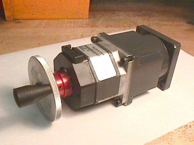 50 1 Harmonic Drive Gear Head With Pacific Scientific P21nrxc Stepper Motor
